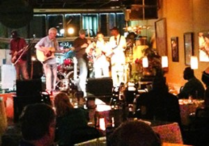 Jammin' at Mac's on Main one recent evening.