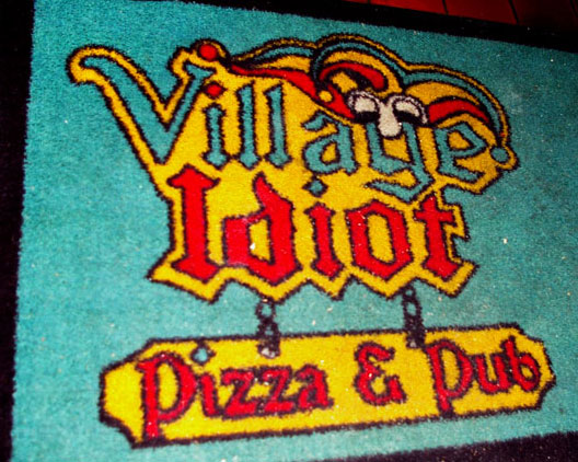 Village Idiot mat