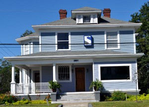 The Solomon Law Group renovated this North Main Street house, which Hyatt Park-Keenan Terrace Neighborhood Association President Michael Hill cites as an excellent example of a well-kept business in the area.