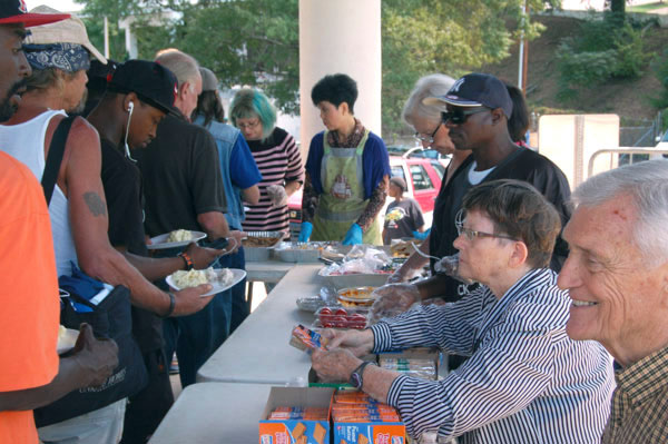 Food-sharing event