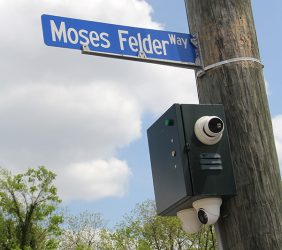 Moses Felder Way sign